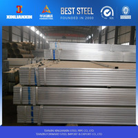 Trade Assurance Q195 galvanized welded square steel pipe