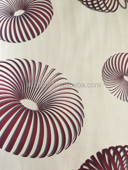 3d pvc wallpaper from manufacture in China