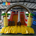 Cute theme customized inflatable water slide for kid