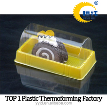 Disposable clear plastic vaccine tray packaging
