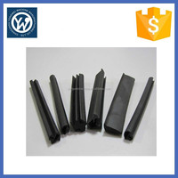 Sliding window rubber seal strip