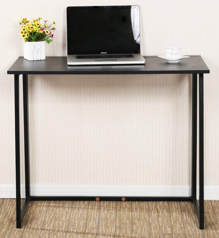 Wooden Folding Computer Desk Laptop Table for Home Office