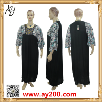 Latest Fashion Design Abaya Wholesale Jubah Muslimah