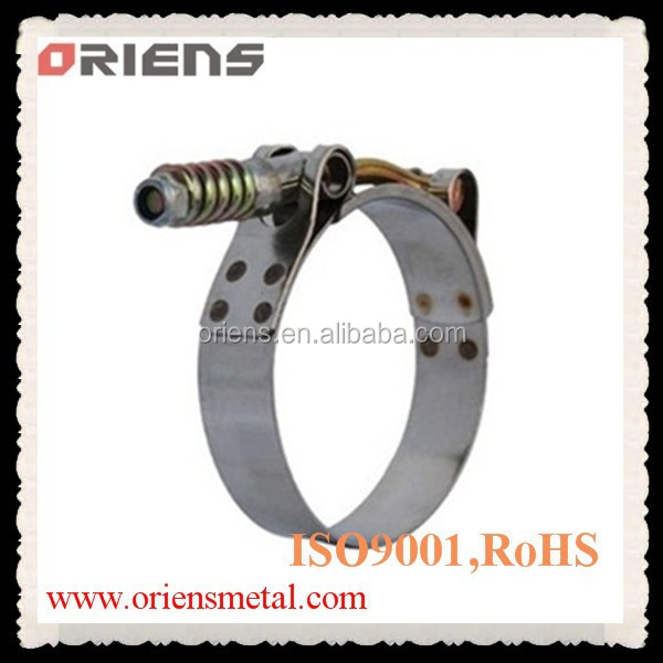 customized ss 304 t bolt clamp for all kinds of cars