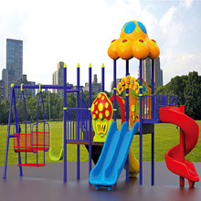 JS06002 Hotsale Kids Outdoor Play Ground Amusement Park Items Equipment