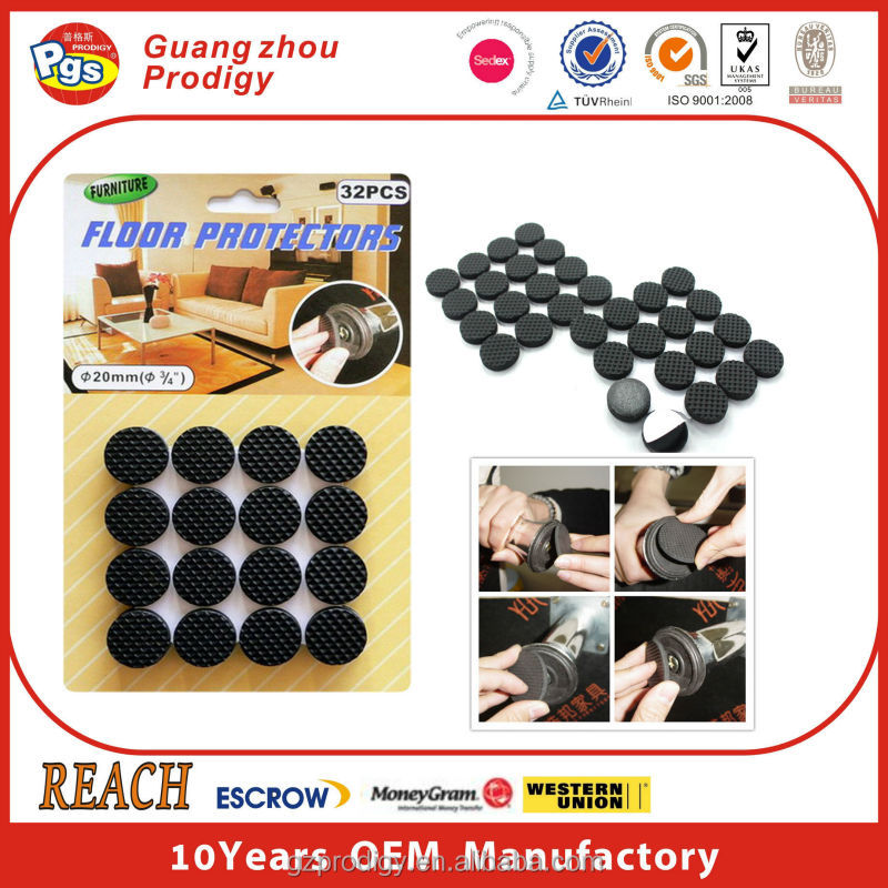 floor protectors for furniture legs/chest protector for kick boxing