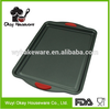 OKAY BK-D5025L Non-stick silicone handle shallow baking pan