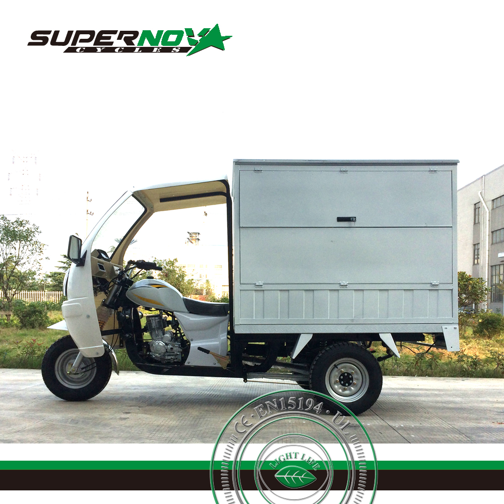 Hot Selling Van Cargo Tricycle With closed Box