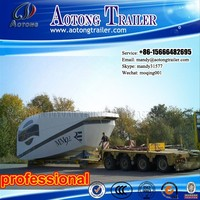 8 axis hydraulic module trailer