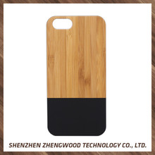 The newest wood back cover wholesale price for samsung galaxy s4 case for iphone