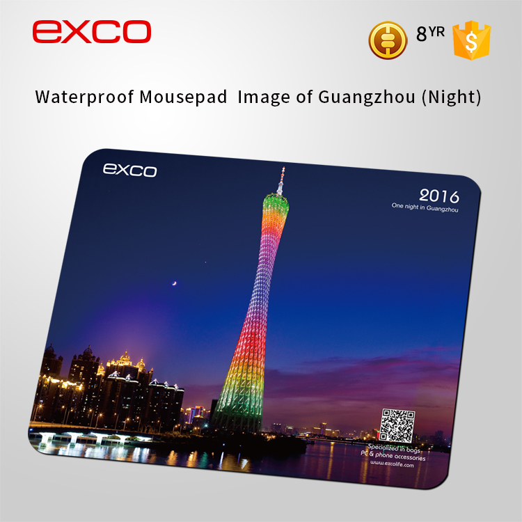 EXCO 2016 promotional colorful silicon mouse pad/mouse mat