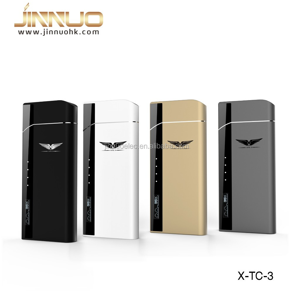 New vape 2016 jinnuo&Joecig X-TC3 top filling luxury e vape vaporizer cigarette