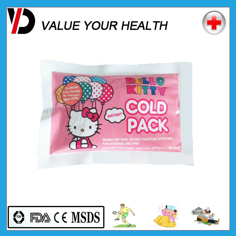 Instant cold ice gel pack for sports injury