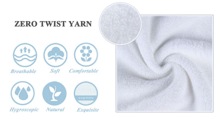 Hot sale high quality Japanese white nabaiji hotel 21 body bath  towels