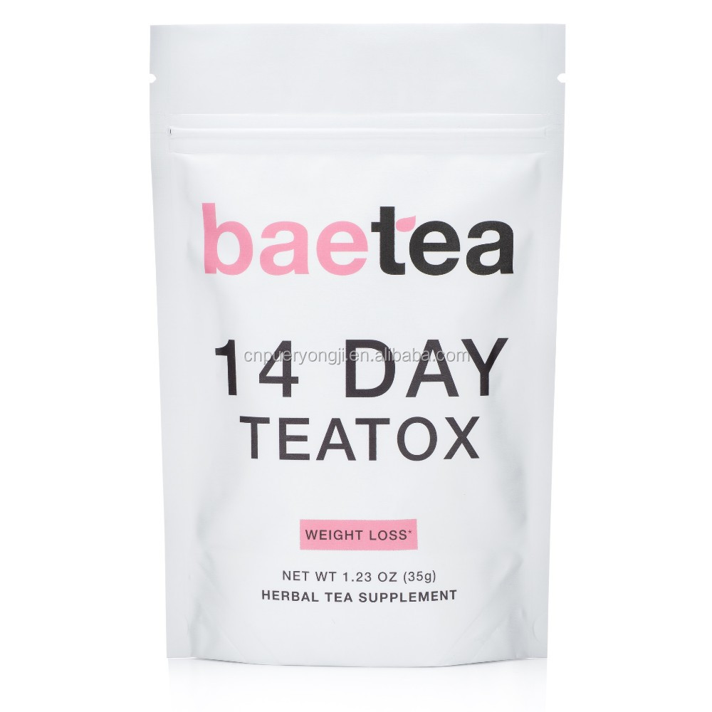 Customized Blend 28 Day Skinny Teatox Tea Diet Slim Keep Fit Tea