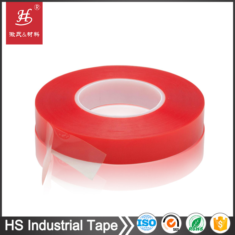 ISO9001&14001 Certified PET Polyester Double Sided Tape Self Adhesive