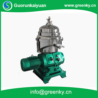 Continous working oil separation self cleaning disc centrifuge