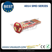 factory wholesales best sellers 501 168 w5w 14X4014 SMD 12v t10 led 194 canbus auto interior light