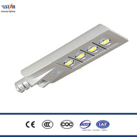 160W Multiple chip aluminum alloy die casting LED street light