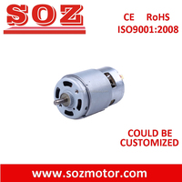 high torque 12V /24V brushed dc motor