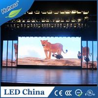 High resolution full color P4 indoor led display screen