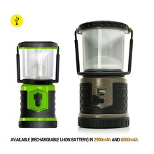 Factory supply OEM outdoor waterproof rechargeable mini led camping lantern with charger