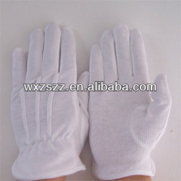 Nylon working cheap medical gloves with pvc dots(new product)