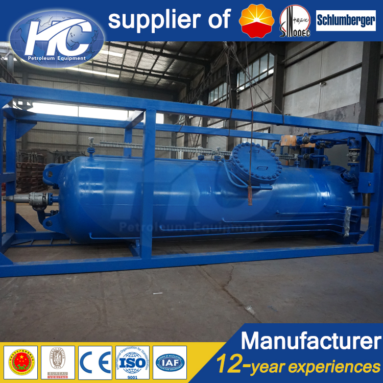 Factory high efficiency surge vessel / water storage tank / pressure vessel chlorine buffer storage