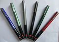 Newest design Office & School Multi-functional metal warming ballpoint pens Warming function gel pen with LED light