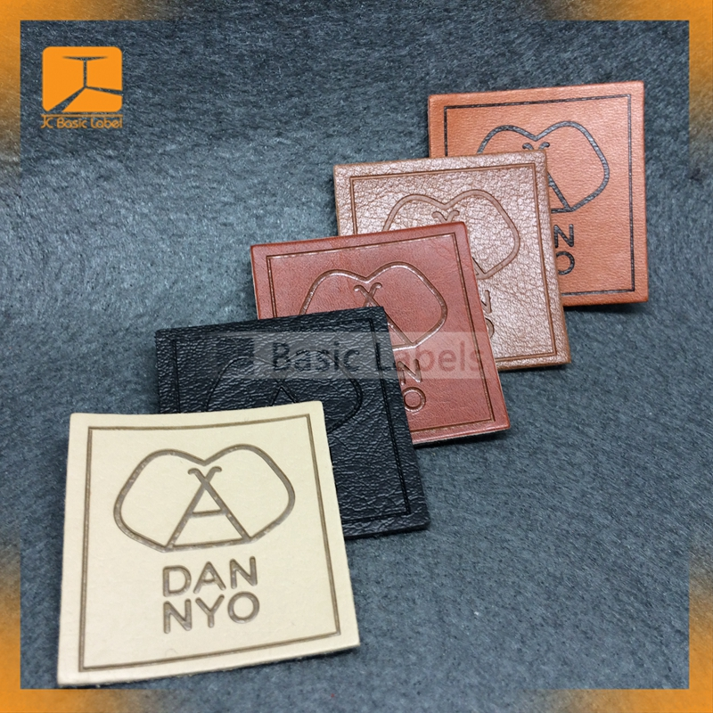 Promotional Gift,Garment,Bags,Shoes, Tools, Fashion Accessories Use and Leather + Metal Material leather label