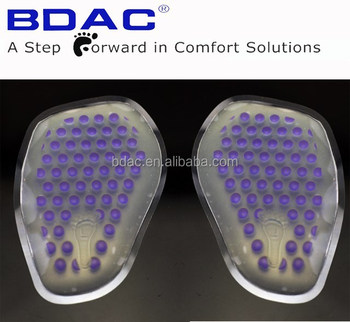 forefoot insole pad adhesive colourful metatarsal cushion