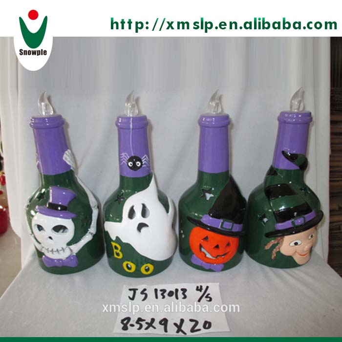 Commercial ceramic halloween decoration