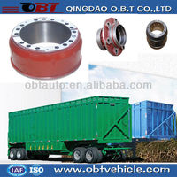 semi-trailer brake drum
