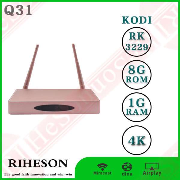 RK3229 4k KODI global iptv box speed box 2 - android tv controller