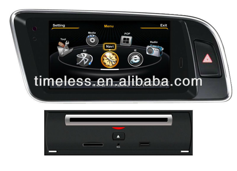 Special car dvd player for S100 platform for audi A4L (2007-2012)