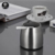 Stainless Steel Unbreakable Modern Cigarette Ashtray for Indoor or Outdoor Use