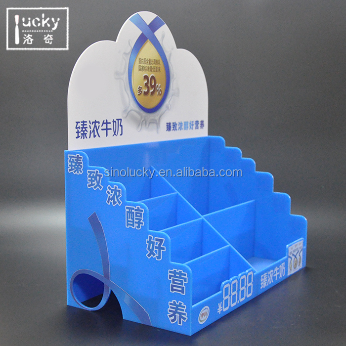 Acrylic drink display stand