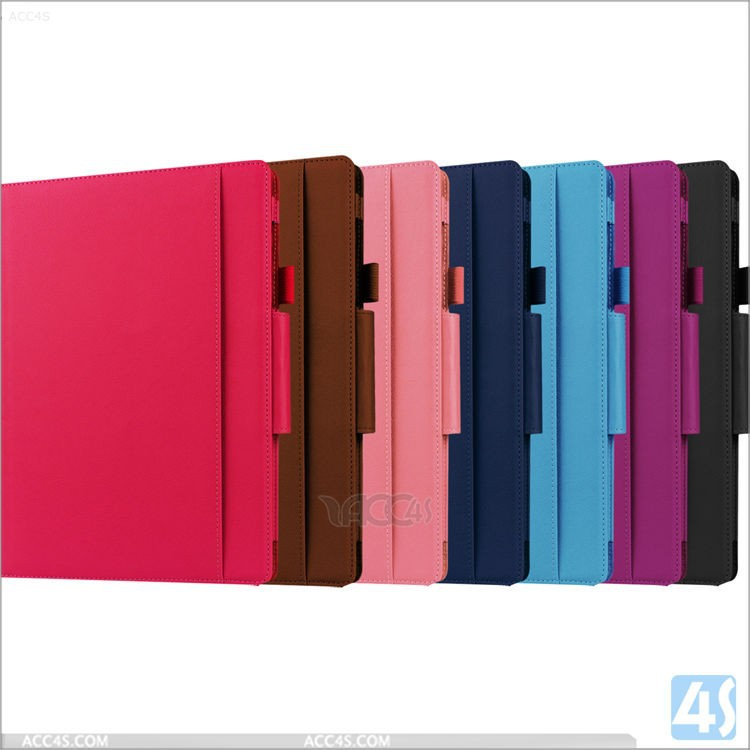 Most popular products flip stand tablet leather case For New Microsoft Surface Pro 3 Tablet