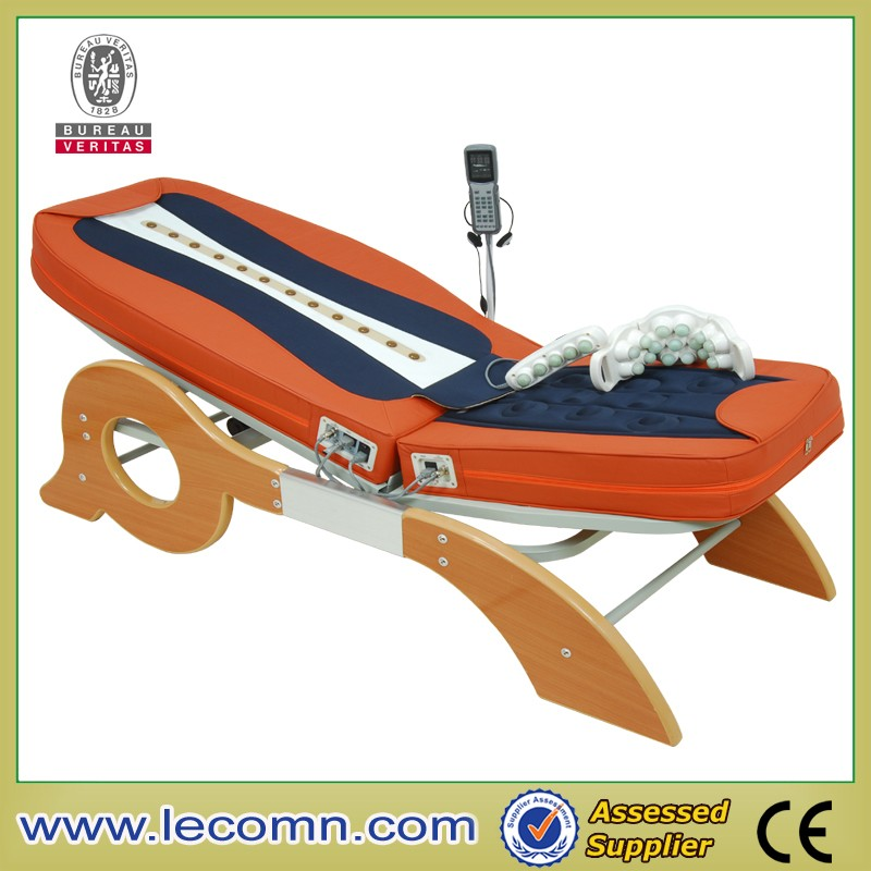 Massage bed vibrating motor