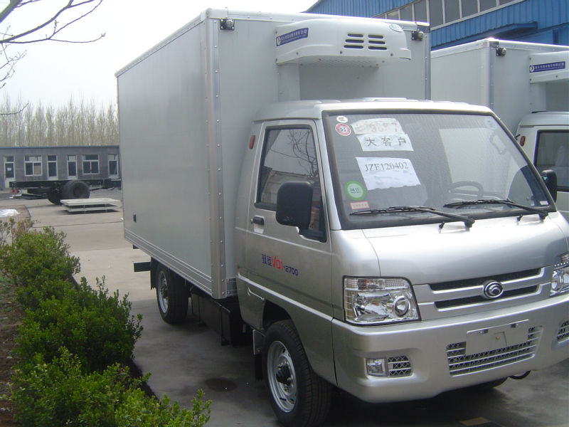 Hot selling Foton Mini refrigerator van