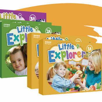 The Best American English Course Books for Kindergarten - Little Explorer & Young Explorer