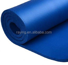 "wholesale NBR extra thickness 2/5"" yoga mat with yoga strap"
