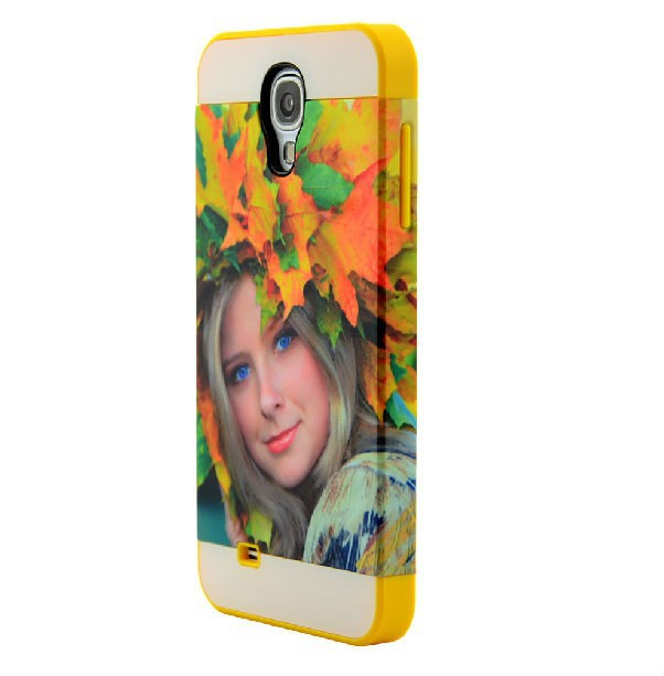 3D sublimation mobile phone case for Samsung GALAXYS4 cover