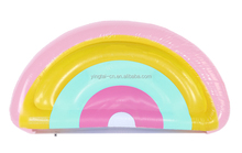 large adult pool inflatable rainbow water floats