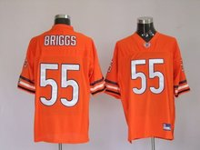 Chicago Bears #55 Lance Briggs-orange jerseys football/rugby wholesale authentic quality freeshipping paypal
