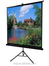 92'' Portable Tripod cinema projector screen indoor or outdoor use projector screen superior selection for business