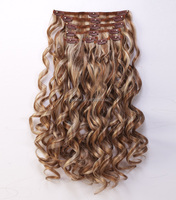 unprocessed afro kinky curly clip in hair extensions for distributors