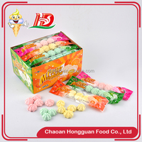 Colorful small bread wholesale sweet mini marshmallows candy