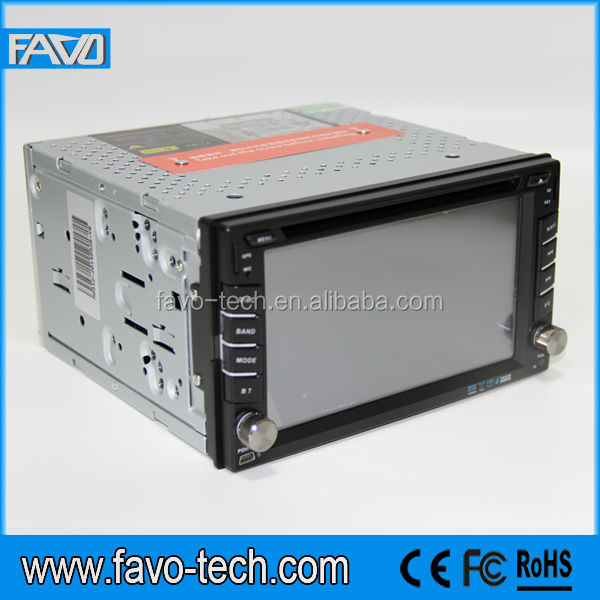 6.2 Inch Touch Screen car 2 din dvd player with Free Map