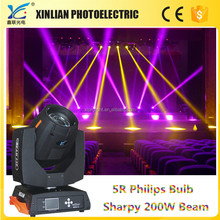 Sharp beam 200 moving head 5r pro light moving heads stage lighting